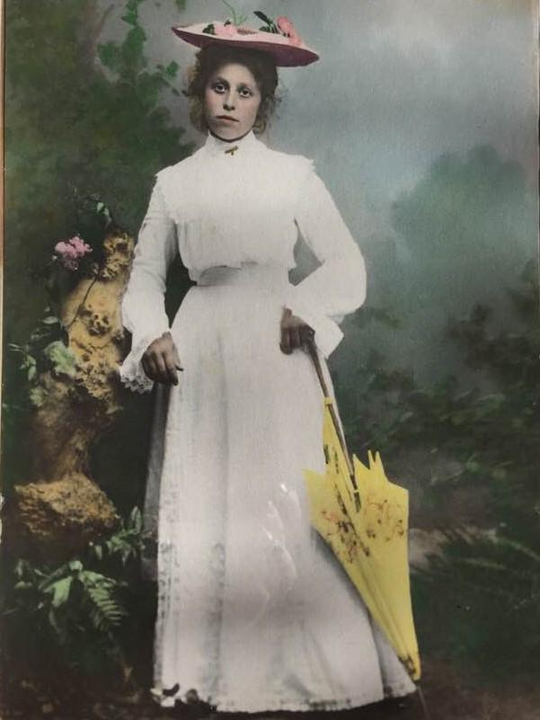 Farmor Alfrida Amalia född 1886