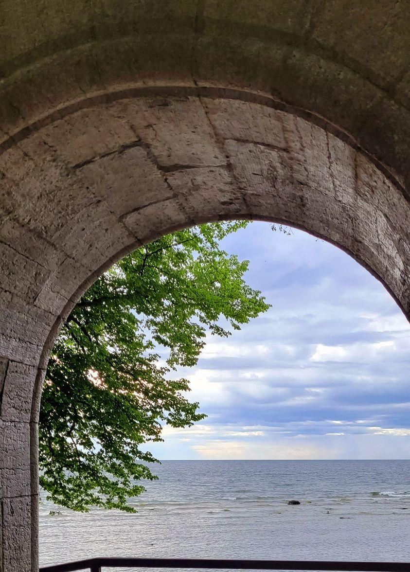 Kärleksporten, Visby ringmur